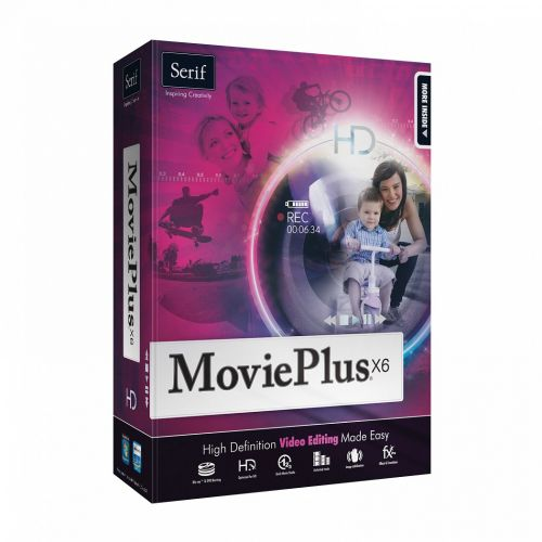 Serif MoviePlus X6 8.0.0.14 box