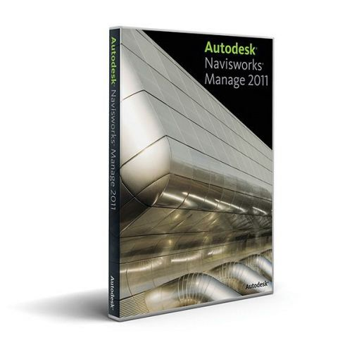 Autodesk Navisworks Manage 2012 64-bit box