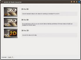 ImTOO 3D Movie Converter 1.0 screenshot