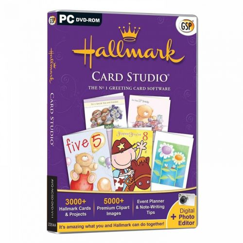 Hallmark Card Studio Deluxe 2014 box