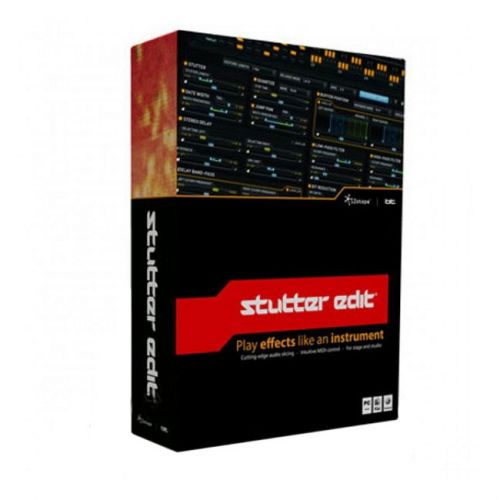 iZotope Stutter Edit 1.0.5 AU VST VST3 RTAS for Mac box