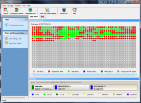 Paragon Hard Disk Manager 11 Pro Advanced Recovery CD based on WinPE screenshot