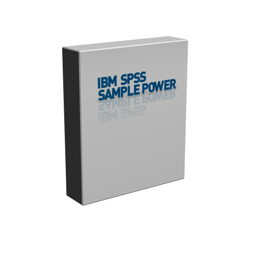 IBM SPSS SamplePower 3.0.1 box