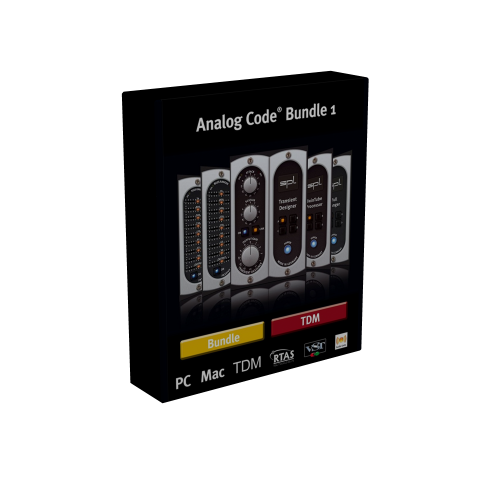 SPL Analog Code Bundle VST VST3 RTAS TDM 1.1 box