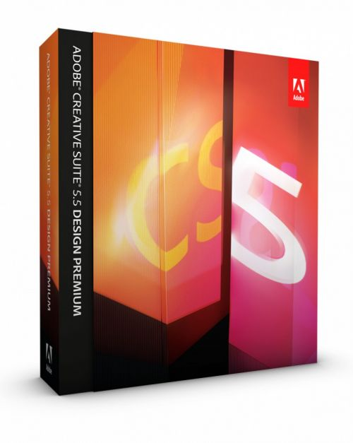 Adobe Creative Suite CS5.5 Design Premium European box