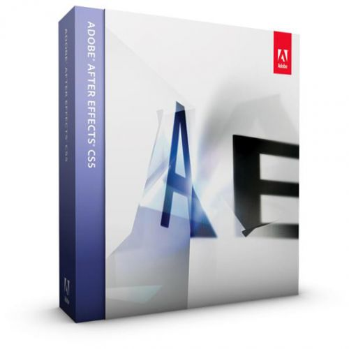 Adobe After Effects CS5.5 10.5 64-bit box