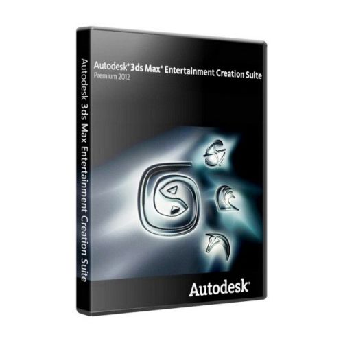 Autodesk 3ds Max Entertainment Creation Suite Premium 2012 box
