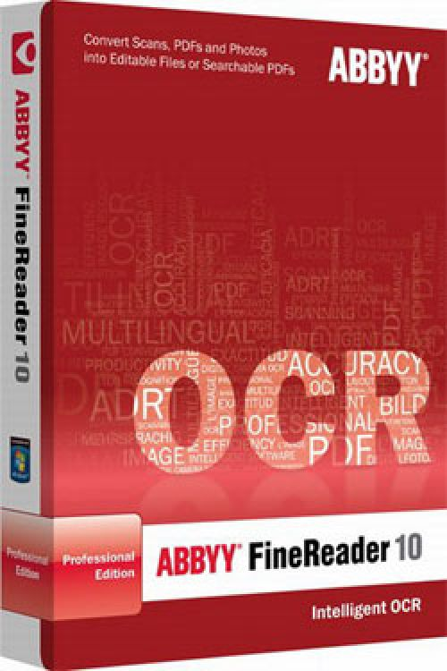 ABBYY FineReader 10 Corporate Edition box