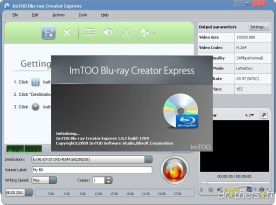 ImTOO Blu-ray Creator 2.0 screenshot