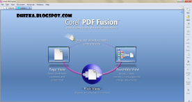 Corel PDF Fusion 1.10 screenshot