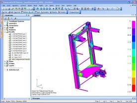 Siemens PLM FEMAP 10.3 x32 x64 with NX Nastran screenshot