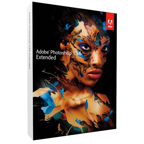Adobe Photoshop CS6 Extended 13.0 box