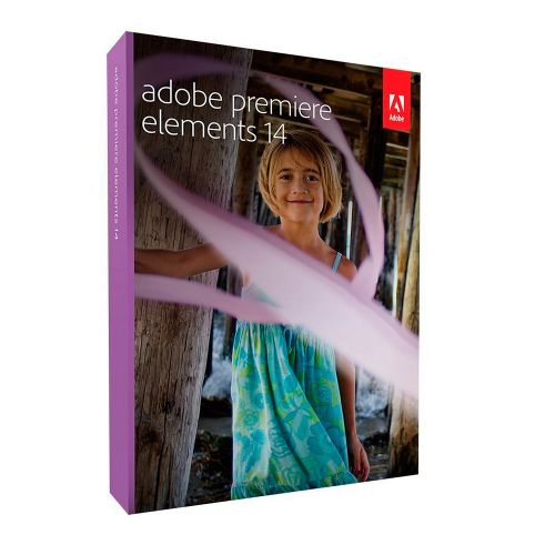 Adobe Premiere Elements 14.0 64-bit box