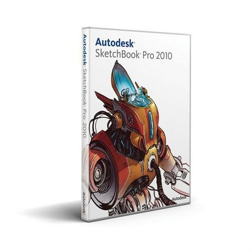 Autodesk Sketchbook Pro 2011 with SP2 box