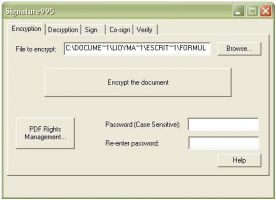 Pdf995 Signature995 10.1 screenshot