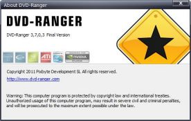 DVD Ranger 3.7 screenshot