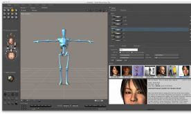 Smith Micro Poser Pro 11.0.4.32467 + Content pack for Mac screenshot