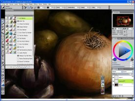 Corel Painter 12 screenshot