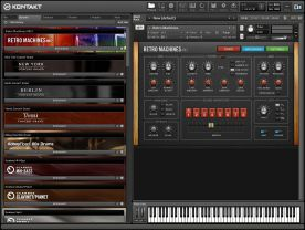 Native Instruments Kontakt 5.0 VSTi RTAS screenshot