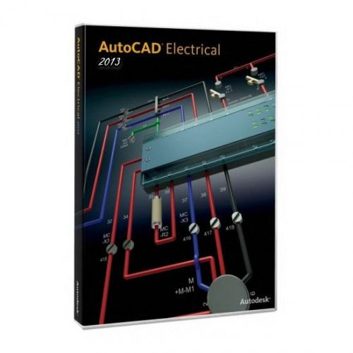 Autodesk AutoCAD Electrical 2014 x64 box