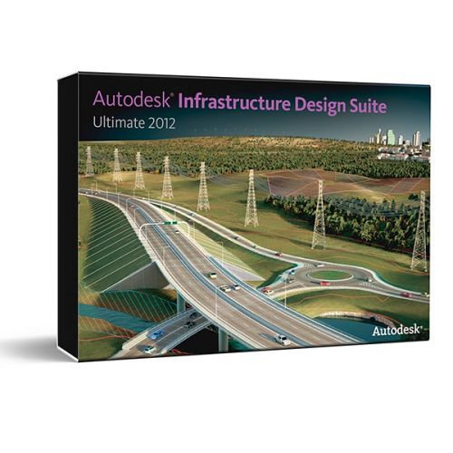 Autodesk Infrastructure Design Suite Ultimate 2016 64-bit box
