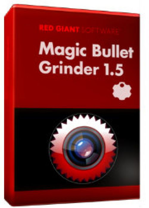 Red Giant Magic Bullet Grinder 1.5.0 for macOS box
