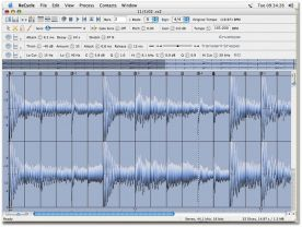 Propellerheads ReCycle 2.2 for Mac screenshot