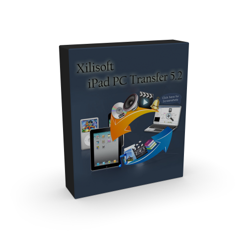 Xilisoft iPad PC Transfer 5.2.2.20120318 box