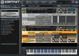 Native Instruments Kontakt 5.0 VSTi AU RTAS for Mac screenshot