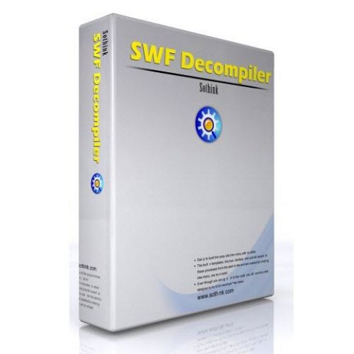 Sothink SWF Decompiler 7.4.5320 box