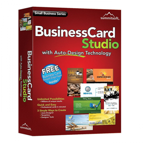 Summitsoft Business Card Studio 2.1.0.0 box