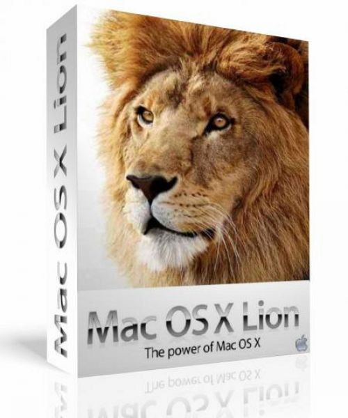 Apple Mac OS X Lion 10.7.4 for macOS box