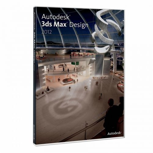 Autodesk 3ds Max Design 2012 SAP box