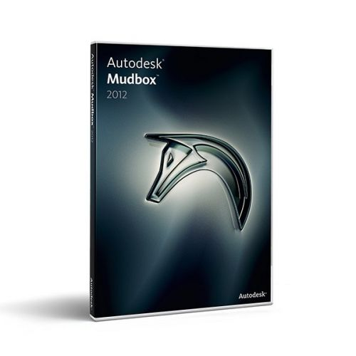 Autodesk Mudbox 2012 with SP1 Multilanguage box