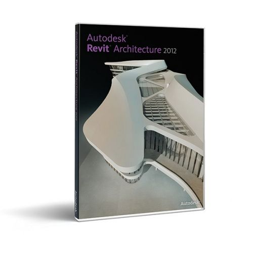 Autodesk Revit Architecture 2014 64-bit 32-bit box