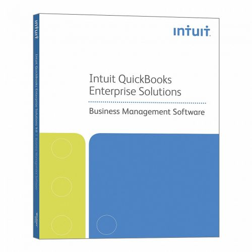 Intuit Quickbooks Enterprise Solutions Accountant Edition 12.0 box