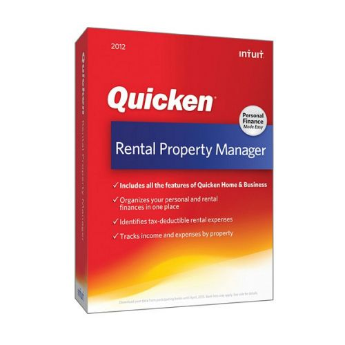 Intuit Quicken Rentalty Manager 2013 box