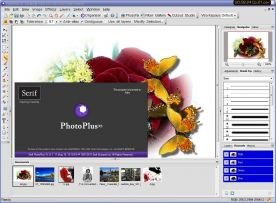 Serif PhotoPlus X5 15.0 screenshot