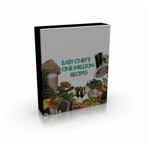 Easy Chef One Million Recipes box