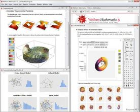 Wolfram Research Mathematica 8.0 screenshot