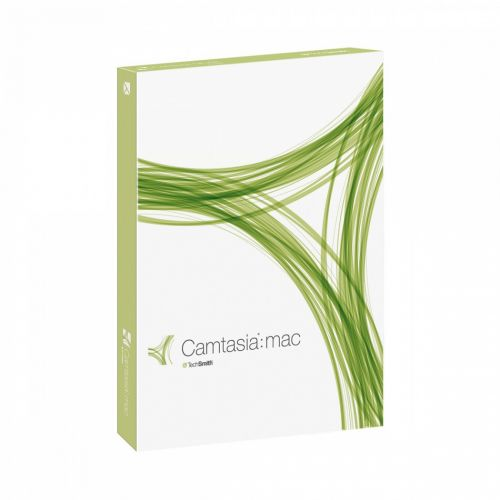 TechSmith Camtasia 1.1.0 for Mac box