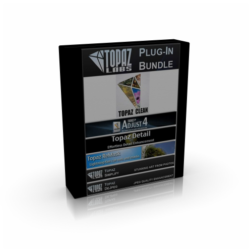 Topaz Plugins Pack 2011 for macOS box