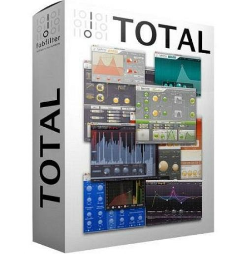 FabFilter Total Bundle 2015.02.02 AU VST VST3 RTAS for Mac box