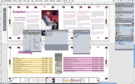 QuarkXPress 9 for Mac screenshot