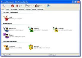 SiSoftware Sandra Pro Business 2011 screenshot
