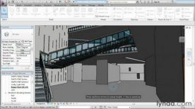 Lynda.com Advanced Modeling in Revit Architecture screenshot