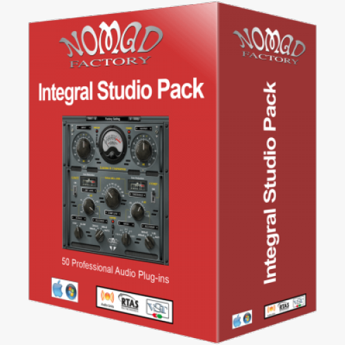 Nomad Factory Integral Studio Pack 3 VST RTAS AAX 5.1.0 64-bit 32-bit box