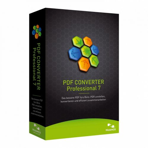Nuance ScanSoft PDF Converter Pro Multilingual 7.2 box