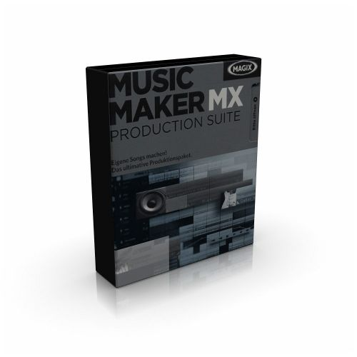 MAGIX Music Maker MX Production Suite 18.0.1.11 box