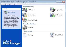 Active Disk Image Pro Corporate 5.1 screenshot